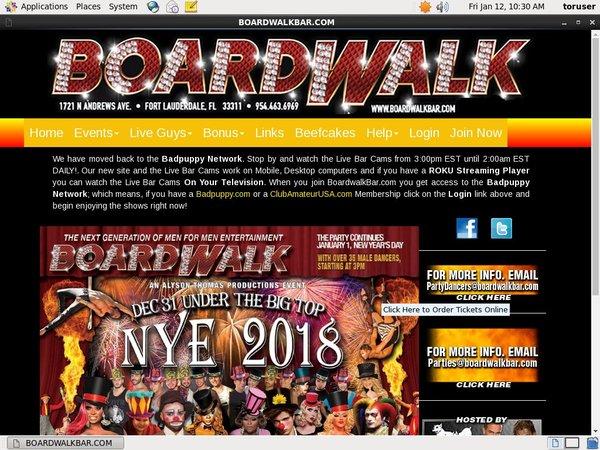 Boardwalkbar.com Cams