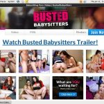 Busted Babysitters Signup Form