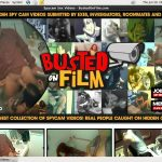 Busted On Film Online