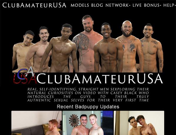 Club Amateur USA Promotion