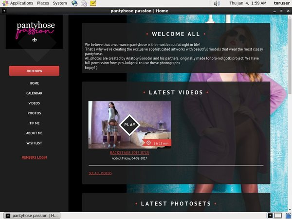 Hd Pantyhose-passion.com Free