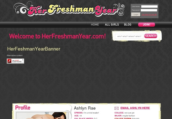Herfreshmanyear Join Page
