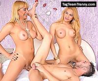 Tag Team Tranny tranny orgy