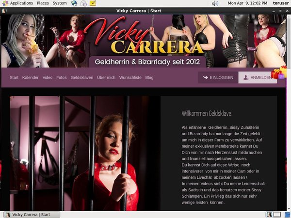 Vicky-carrera.com Join Form