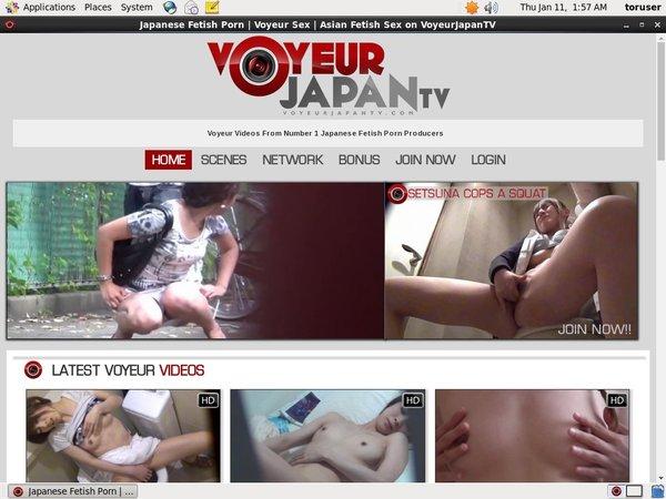 Voyeur Japan TV Subscribe