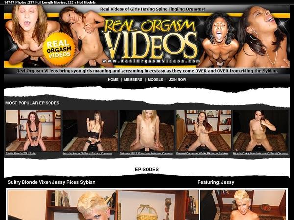 Real Orgasm Videos 帐号