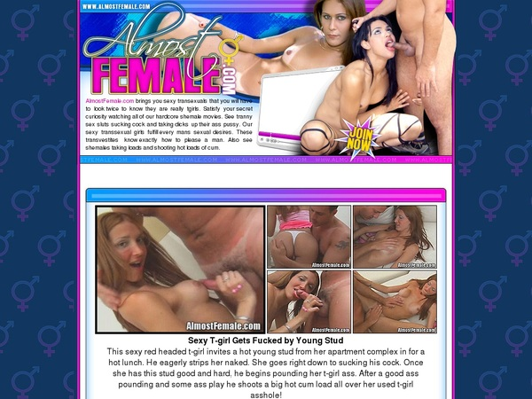 Almostfemale.com Free Trial Price