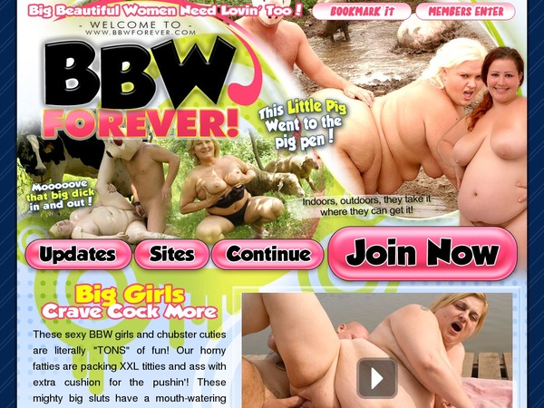 Bbwforever Signup Page