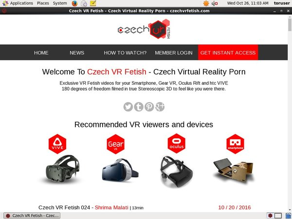 Czech VR Fetish Coupon Code