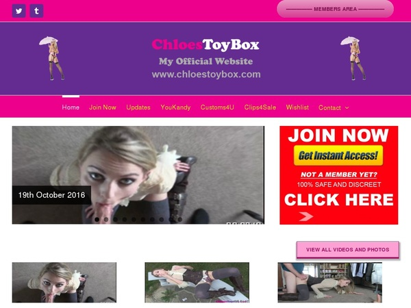 Free Chloes Toy Box Premium