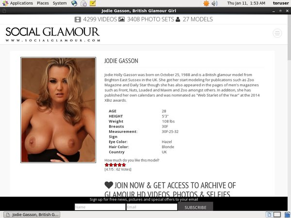 Free Jodie Gasson Discounts