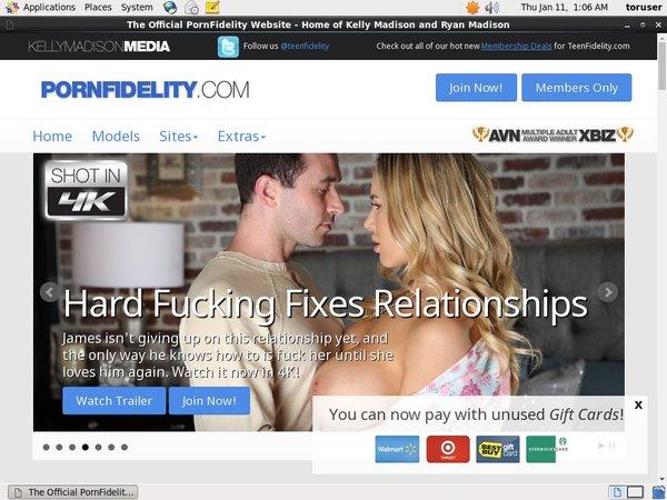 Get Free Pornfidelity Account