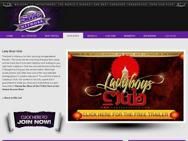 Ladyboysclub By SMS
