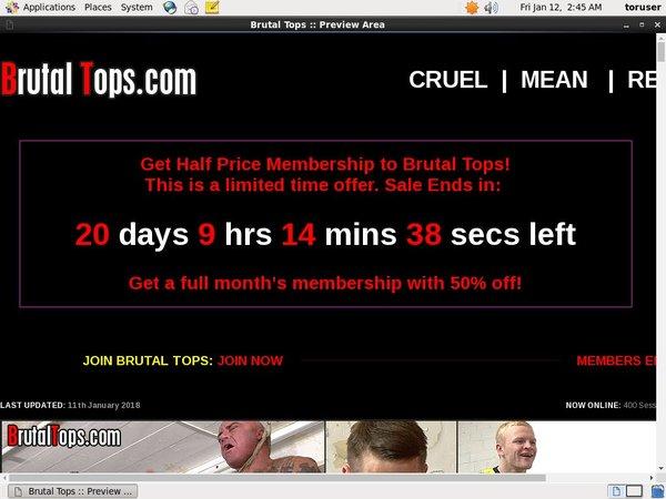Free Pass Brutaltops.com