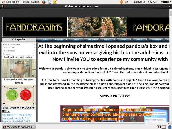 Pandora Sims 구독하기