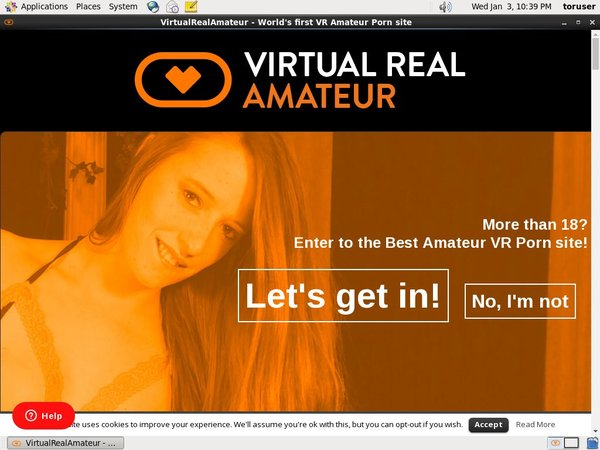 Virtualrealamateurporn.com Paypal Trial