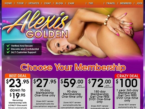 Porn Alexis Golden Free