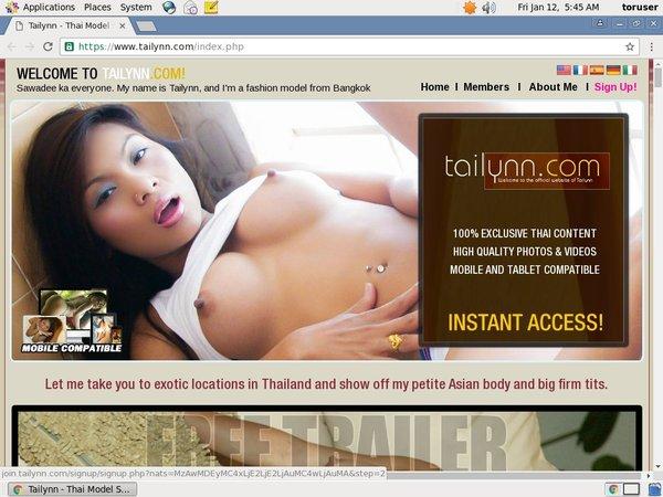 Tailynn Free Sex