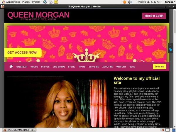 Thequeenmorgan.net Payment