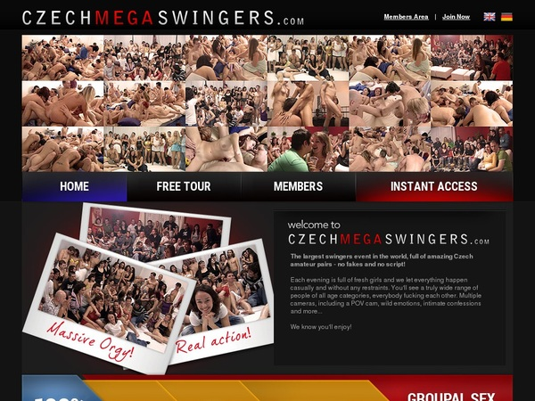 Free Czech Mega Swingers Acounts