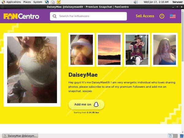 Daiseymae69 Free Trial Signup