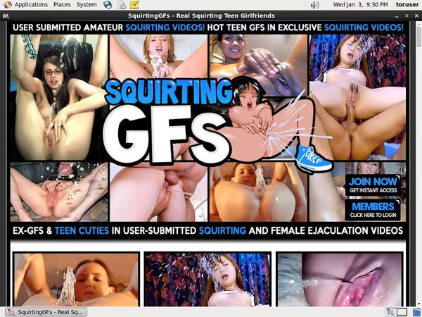 Squirting GFs Descuento