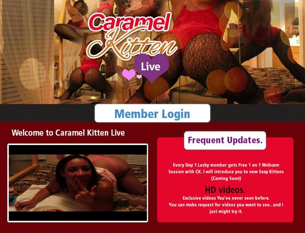 Caramelkittenlive.com Accounts Working