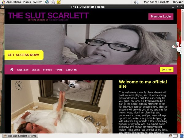 Special The Slut Scarlett Free Trial
