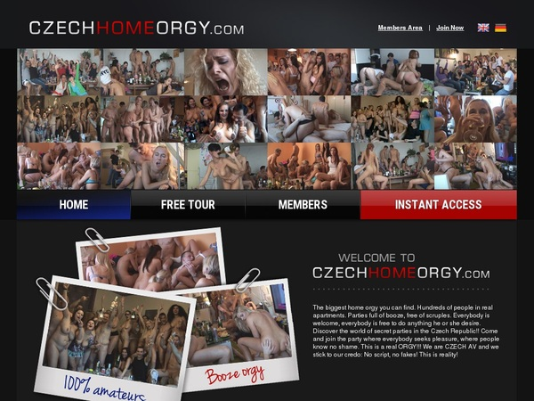 Czech Home Orgy With Free Trial