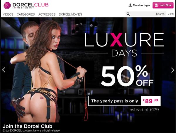 Dorcelclub.com Discount Sign Up