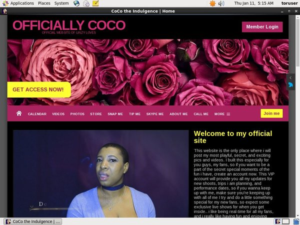Free Officiallycoco.com Login Account