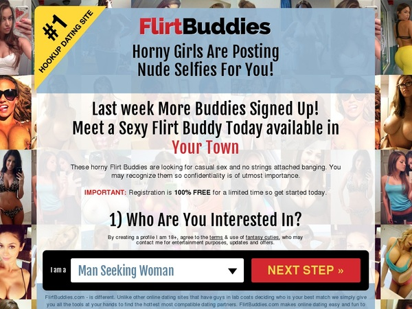 Discount Flirt Buddies Offer