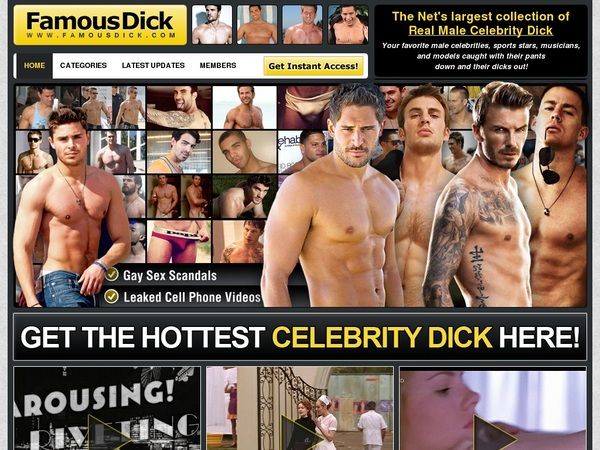 Famousdick.com Paypal Account