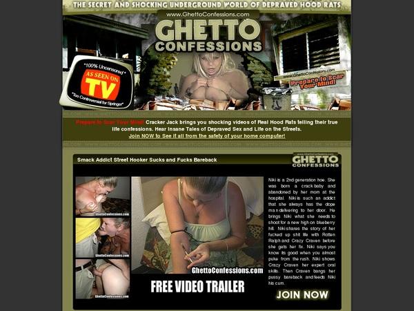 Ghettoconfessions.com Discount Info