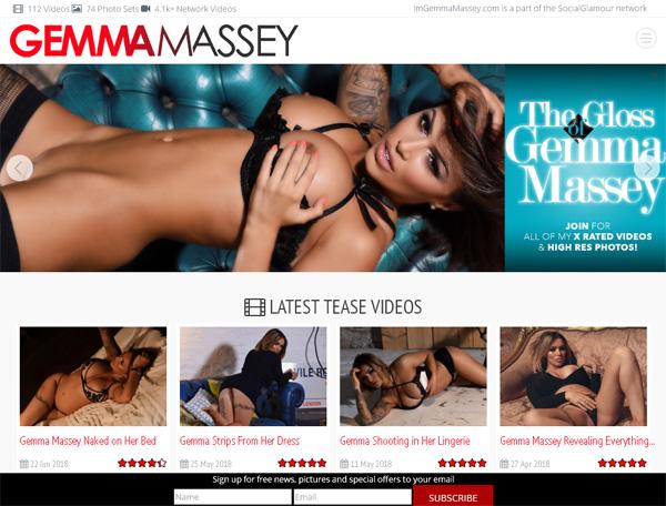 Im Gemma Massey Discount Account