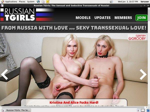 Russian TGirls Discount Id