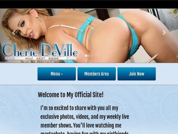 User Cherie DeVille