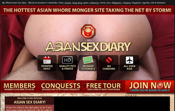 Asiansexdiary.com Member Discount