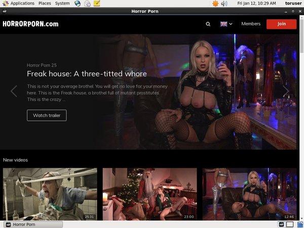 How To Get Into Horror Porn
