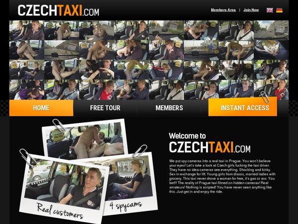 Czechtaxi.com New Account