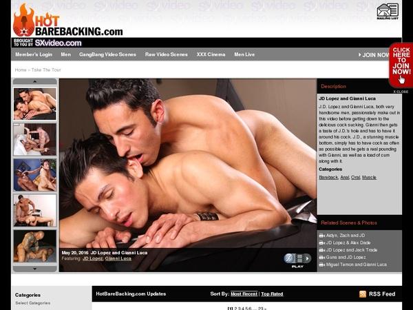 Hot Barebacking Discount Setup