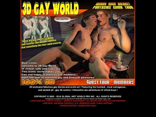 Xxx 3D Gay World