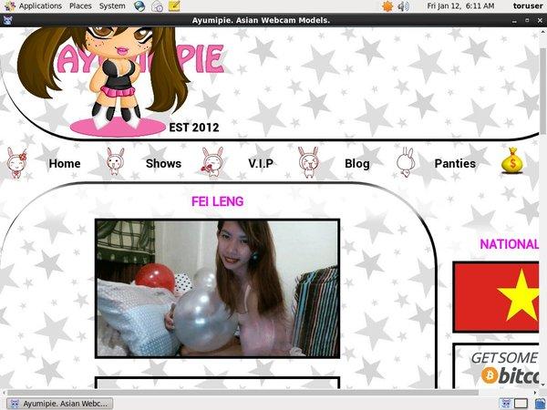 Discount Ayumipie Asian Webcams Membership