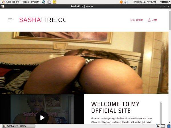Sashafire.modelcentro.com Site