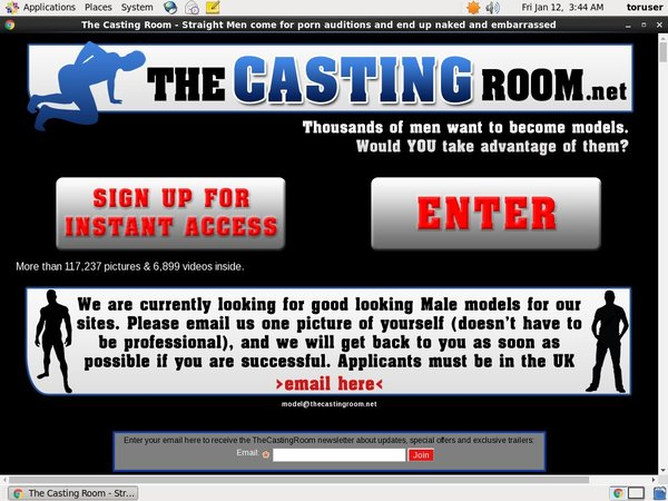 The Casting Room Gift Card